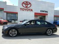 CARFAX One-Owner. Clean CARFAX. Jet Black 2018 BMW 7