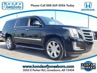 CARFAX One-Owner. Clean CARFAX. Black 2018 Cadillac