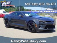 2018 Camaro SS Clean CARFAX One Owner - Bluetooth,