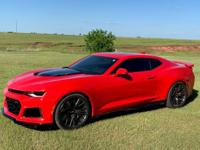 Eye Catching, Like New Red Hot 2018 ZL1, 2,100 miles,