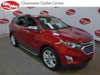 **ONE OWNER** 2018 Chevrolet Equinox Red Tintcoat