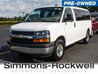 This Chevrolet Express Passenger boasts a Gas/Ethanol