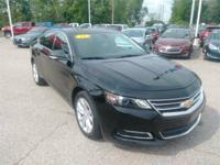 2018 Chevrolet Impala LT 1LT Black  100-Watt 6-Speaker