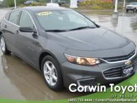 CARFAX One-Owner. This Chevrolet Malibu has great