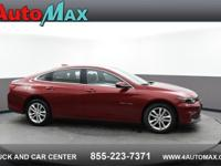 Red 2018 Chevrolet Malibu LT FWD 6-Speed Automatic 1.5L