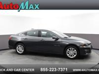 Gray 2018 Chevrolet Malibu LT FWD 6-Speed Automatic