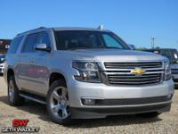 Clean CARFAX. Silver Ice Metallic 2018 Chevrolet