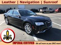 Navigation System, Sunroof / Moonroof, Power Leather