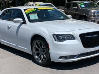 CARFAX One-Owner. Clean CARFAX. White 2018 Chrysler 300