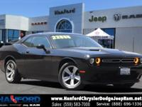 Black 2018 Dodge Challenger SXT RWD 8-Speed Automatic