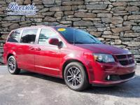 Clean CARFAX. 2018 Dodge Grand Caravan GT LEATHER