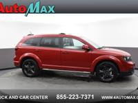 Red 2018 Dodge Journey Crossroad FWD 6-Speed Automatic