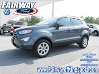 2018 Ford EcoSport SE Smoke One Owner, Clean Vehicle