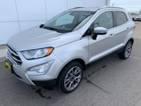 2018 Ford EcoSport Titanium 4WD Good Tires, Good