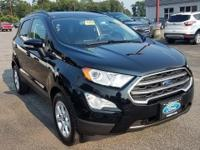 New Price! Shadow Black 2018 Ford EcoSport SE FWD