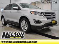 Recent Arrival! 2018 Ford Edge SEL Ingot Silver
