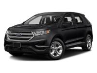 2018 Ford Edge SEL AWD Remainder of Factory Warranty,