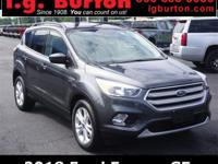 2018 Ford Escape SE CARFAX One-Owner. Clean CARFAX.