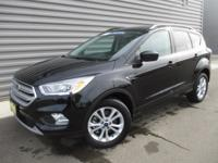 2018 Ford Escape SEL 4WD, Heated Seats, No Accidents,