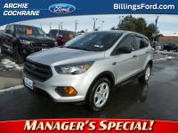 Ingot Silver Metallic 2018 Ford Escape S FWD 6-Speed