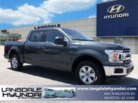 Gray 2018 Ford F-150 XLT RWD 6-Speed Automatic