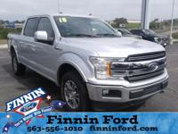 This Ford F-150 is well equipped and includes the