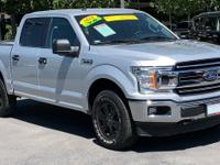 CARFAX One-Owner. Clean CARFAX. Silver 2018 Ford F-150