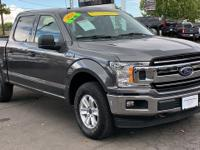 CARFAX One-Owner. Clean CARFAX. Gray 2018 Ford F-150