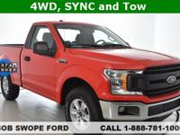 CARFAX One-Owner. Clean CARFAX. This 2018 Ford F-150 XL