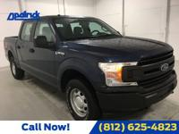 Blue Jeans Metallic 2018 Ford F-150 XL 4WD 6-Speed