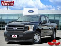 Clean CARFAX. Black 2018 Ford F-150 XL RWD 10-Speed