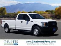 New Price! 2018 Ford F-150 XL Oxford White CARFAX