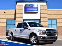 Clean CARFAX. White 2018 Ford F-150 XLT RWD 10-Speed