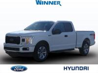 2018 Ford F-150 XLT Oxford White One Owner, Bluetooth,