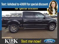 * 8 Cylinder engine * * 2018 ** Ford * * F-150 * * XLT