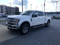 This 2018 Ford F-250 Lariat 4x4 is a One Owner vehicle