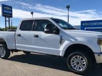 Oxford White 2018 Ford F-250SD XLT 4WD 6-Speed
