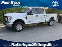 Recent Arrival! 2018 Ford F-250SD XLT Oxford White