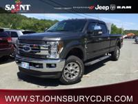4WD 2018 Ford F-350SD Lariat BACK-UP CAMERA, HEATED &