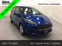 2018 Ford Fiesta SE CARFAX One-Owner. Odometer is 7204