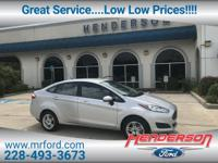Silver 2018 Ford Fiesta SE FWD 6-Speed Automatic 1.6L