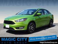 Treat yourself to this 2018 Ford Focus SE, which