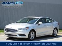 Our 2018 Ford Fusion Hybrid SE Sedan is built with