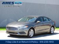 Our great looking 2018 Ford Fusion Hybrid SE Sedan