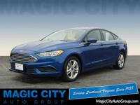 For a smoother ride, opt for this 2018 Ford Fusion SE