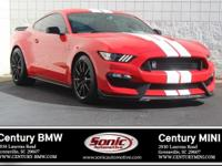* One Owner * Clean Carfax * 2018 Ford Shelby GT 350!