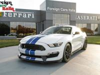 Recent Arrival! LOW MILES, 18 Ford Mustang Shelby GT350