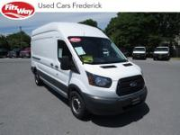 2018 White Ford Transit-250 6-Speed Automatic with
