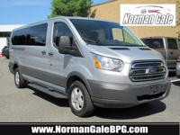 Silver 2018 Ford Transit-350 XLT RWD 6-Speed Automatic