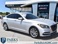 2018 Siberian Ice Genesis G80 CARFAX One-Owner.Contact